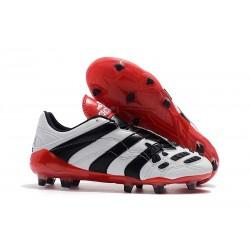 Zapatos de Fútbol adidas Predator Accelerator FG Blanco Rojo Negro