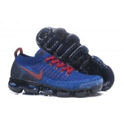 Nike Air Vapormax Flyknit 2 Zapatos - Azul Rojo