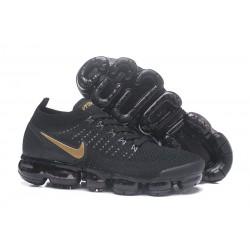 Nike Air Vapormax Flyknit 2 Zapatos - Negro Oro