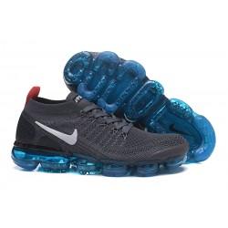 Nike Air Vapormax Flyknit 2 Zapatos - Gris Negro Blanco