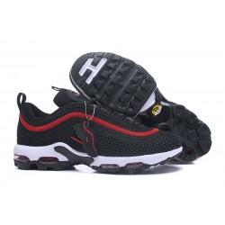 Zapatillas - Hombre Nike Air Max 97 Plus Negro Rojo