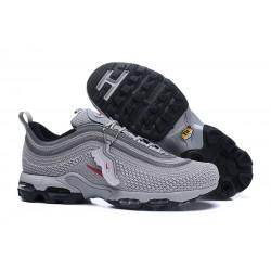 Zapatillas - Hombre Nike Air Max 97 Plus Gris Rojo
