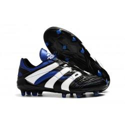 Zapatos de Fútbol adidas Predator Accelerator FG Negro Azul Blanco