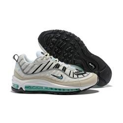 Zapatos Nuevo Nike Air Max 98 Blanco Verde
