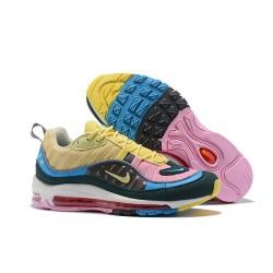Zapatos Nuevo Nike Air Max 98 Hombres Multicolores