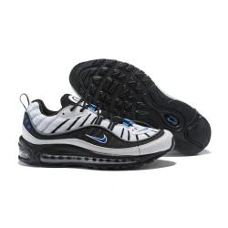 Zapatos Nuevo Nike Air Max 98 Hombres Negro Blanco