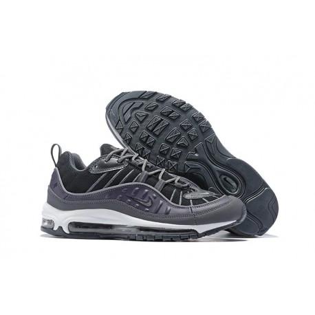 Zapatos Nuevo Nike Air Max 98 Hombres Negro