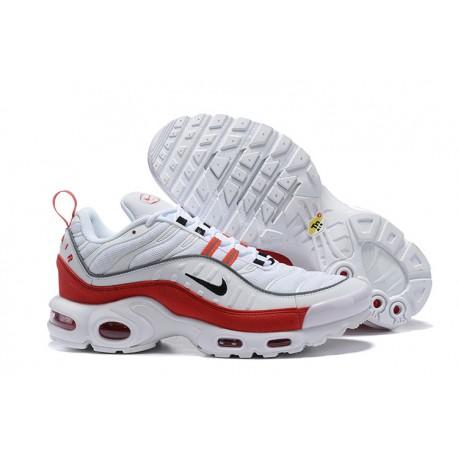 Zapatillas Nike Air Max TN 98 Plus Blanco Rojo