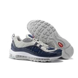 Nike Supreme x NikeLab Air Max 98 Zapatillas - Negro Gris