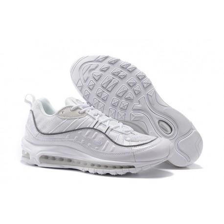 Nike Supreme x NikeLab Air Max 98 Zapatillas - Blanco