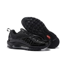 Nike Supreme x NikeLab Air Max 98 Zapatillas - Negro