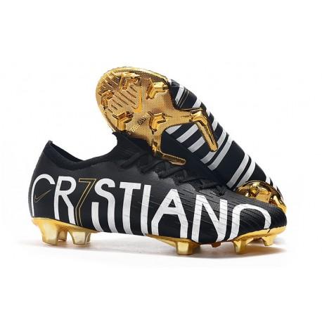 Cristiano Ronaldo Bota Nike Mercurial Vapor 12 Elite CR7 FG