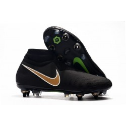 Nike Phantom Vision Elite DF SG-PRO AC Negro Or