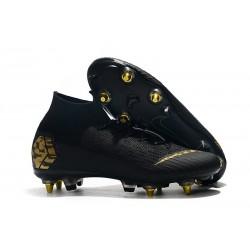 Nike Bota de Futbol Mercurial Superfly 6 Elite SG-Pro Negro Or