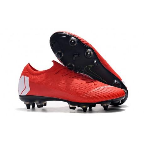 Nike Zapatillas Mercurial Vapor XII Elite Sg-Pro Rosso Blanco