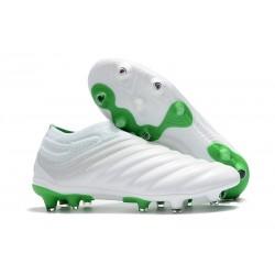 adidas Copa 19+ FG Zapatillas de Fútbol - Blanco Verde
