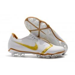 Zapatos de Futbol Nike Phantom Venom Elite FG Blanco Oro