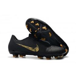 Zapatos de Futbol Nike Phantom Venom Elite FG Negro Oro