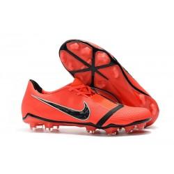 Zapatos de Futbol Nike Phantom Venom Elite FG Rojo Negro