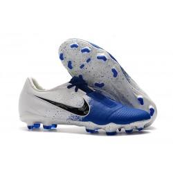 Zapatos de Futbol Nike Phantom Venom Elite FG Blanco Azul