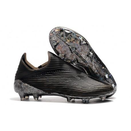 Botas de fútbol Adidas X 19+ FG Negro