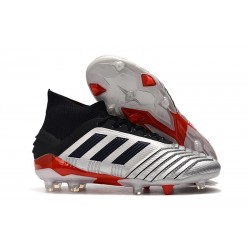 Botas de Futbol adidas Predator 19.1 FG Hombre Metal Negro