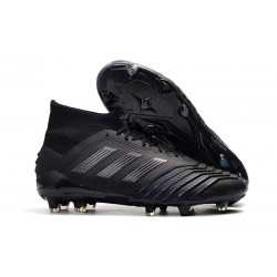 Botas de Futbol adidas Predator 19.1 FG Hombre Negro