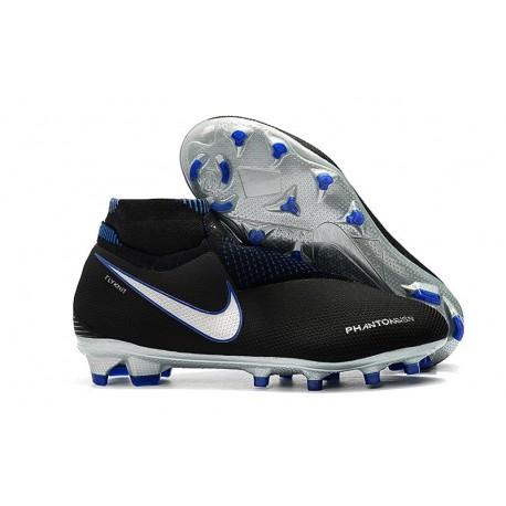 Botas de fútbol Nike PHANTOM VSN ELITE DF FG Negro Azul