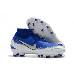 Zapatillas Nike Phantom Vsn Elite Df Fg Hombre Azul Plata