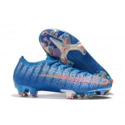 Tacos de Futbol Nike Mercurial Vapor 13 Elite FG Azul Rojo