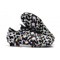 Tacón de Fútbol Nike Tiempo Legend VIII Elite FG Negro Blanco