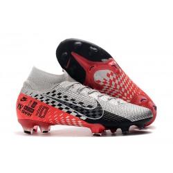 Zapatillas Nike Mercurial Superfly VII Elite FG NJR Cromado Negro Rojo Platino