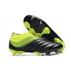 adidas Copa 19+ FG Zapatillas de Fútbol - Negro Verde