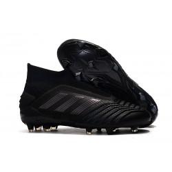 adidas Predator 19+ FG Botas de Futbol Negro