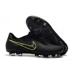 Nike Phantom Venom Elite FG Negro Amarillo Fluorescente