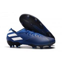 Botas de Futbol adidas Nemeziz 19.1 FG - Azul Blanco