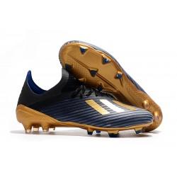 Zapatos de Futbol adidas X 19.1 FG Negro Oro