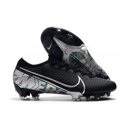 Nike Mercurial Vapor XIII 360 Elite FG Botas de Fútbol Negro Blanco