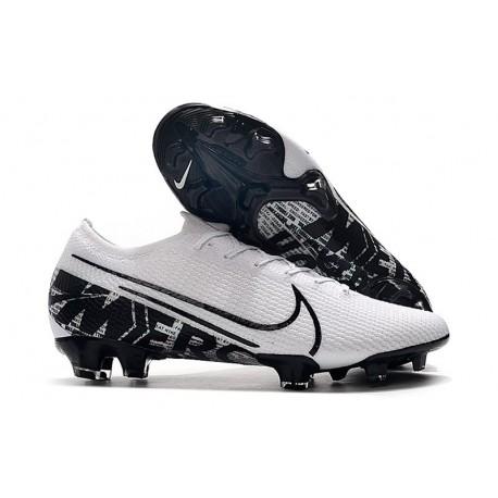 Nike Mercurial Vapor XIII 360 Elite FG Botas de Fútbol Blanco Negro