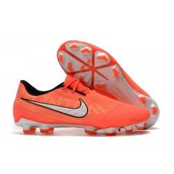 Zapatos de Futbol Nike Phantom Venom Elite FG Mango Brillante/Blanco