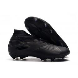 Tacos de Futbol adidas Nemeziz 19+ FG Negro
