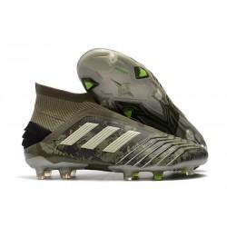 adidas Predator 19+ FG Botas y Zapatillas de Fútbol - Verde Arena