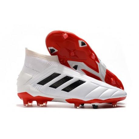 adidas Predator Mania 19+FG ADV Botas y Zapatillas de Fútbol -Blanco