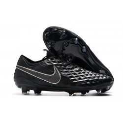 Tacón de Fútbol Nike Tiempo Legend VIII Elite FG Negro