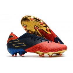 Botas de Futbol adidas Nemeziz 19.1 FG -X Marvel Rojo Azul Negro
