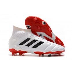 Botas de Futbol adidas Predator Mania 19.1 FG ADV Hombre Blanco
