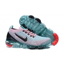 Zapatillas Nike Air VaporMax Flyknit 3 Azul Rosa