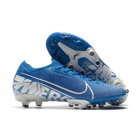 Botas Nike Mercurial Vapor 13 Elite AG-PRO Azul Celeste