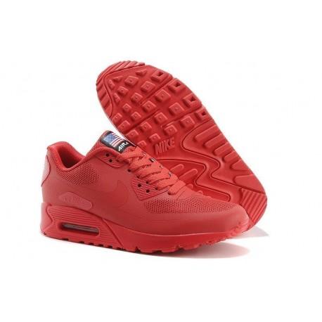 Nike Air Max 90 Hyperfuse QS Rojo