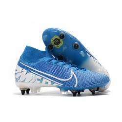 Nike Mercurial Superfly VII Elite SG-Pro New Lights Azul Blanco